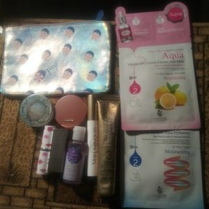 Ipsy bag with extra products.